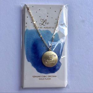 Jewelry - Leo zodiac sign necklace